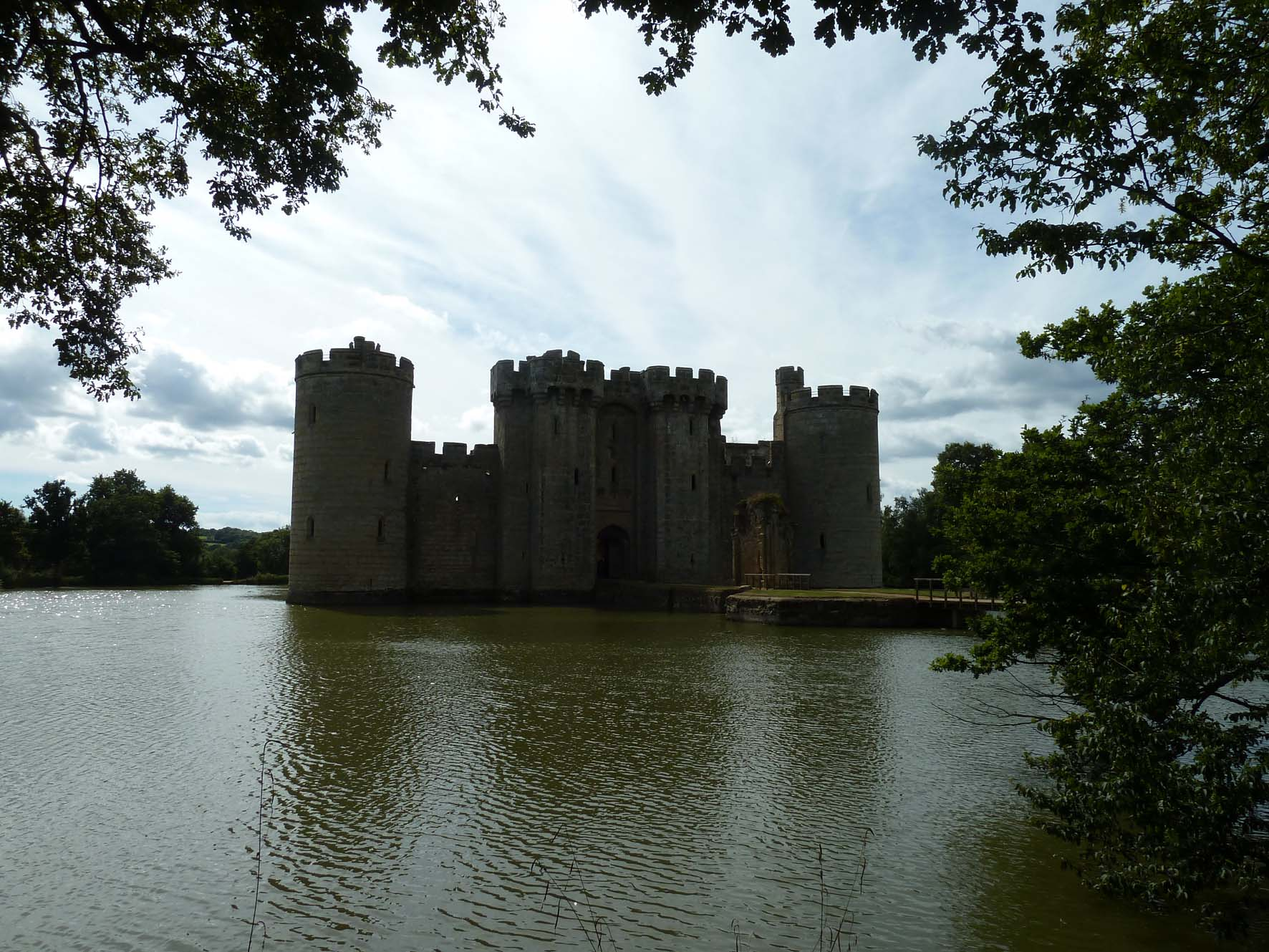 Bodiam Castle Birds Eye View The gallery for...