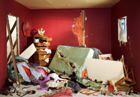 The Destroyed Room, 1978