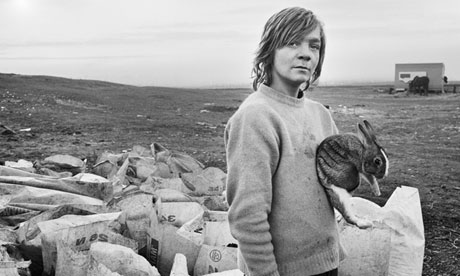 Deutsche Borse prize 2013: Chris Killip's Boo and his rabbit, Lynemouth, Northumberland (1983)