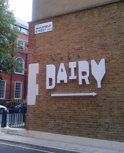 finding the dairy