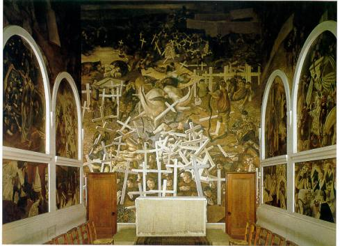 Sandham Memorial Chapel Full View
